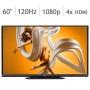"Sharp AQUOS 60"" Class 1080P 120Hz Edge Lit LED Smart HDTV LC60C6500U"