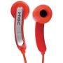 I-Tec T1071R Earphone - Stereo - Red - Mini-phone - Wired - Earbud - Binaural - Open