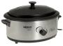 Nesco American Harvest 4816-25-30 Non-Stick 6-Quart Roaster Oven, Stainless Steel
