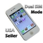 I4S J8 Unlocked Touch Screen Phone Dual SIM GSM Quad Band WIFI Facebook email White color - No Contract AT&T T-Mobile