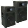 "New PA DJ Band Karaoke 12"" Pro Audio Two Way Speaker Monitor Pair Trap12"