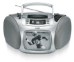 COBY CD TV150 - TV boombox - silver