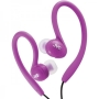 JVC HAEBX85V Inner Ear Sports Clip Headphone (Violet)