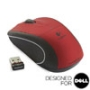 V450 NANO Cordless Laser Mouse - Ruby Red - Designed for Dell