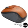 V220 Cordless Optical Mouse - Tangerine Orange - Designed for Dell