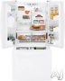 GE Freestanding Bottom Freezer Refrigerator PFS22MBSWW