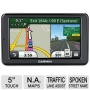 Garmin nvi 2555LMT Auto GPS - 5 Touchscreen MicroSD Slot Card Spoken Streets Names Custom POIs Refurbished