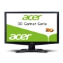 Acer GD245HQABID 61 cm (24 Zoll) 3D LED Monitor (VGA, DVI, HDMI, 120 Hz, 2ms Reaktionszeit) schwarz mit 3D Shutterbrille