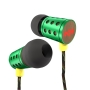 The House of Marley EM-JE020-RA Midnight Ravers - Jammin' In-Ear Headphone - Rasta