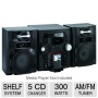 RCA RS2768I 5CD System with iPod Dock