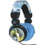 iHip MVF10264WO Marvel Wolverine Extreme DJ Headphone, Yellow/Blue