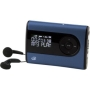GPX - 2GB MP3/WMA Digital Audio Player w/ Expansion Slot - Blue