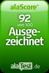 alaScore 92