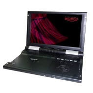 "Xoro HSD7110 10.2"" Portable Multiregion MPEG4 DVD Player & Media Player with USB & 3-in-1 Card Reader"