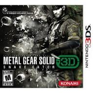 Metal Gear Solid: Snake Eater 3D- Nintendo 3DS