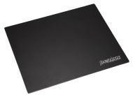 Perixx DX-3000LB, Alluminio Nero Gaming Mouse Pad - 320x270x2mm Dimension - antiscivolo in gomma di base - micro sabbiatura superficiale in alluminio