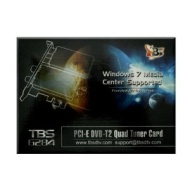 TBS PCI-E DVB-T2 Dual TV Tuner Card High Definition Digital Free to Air Tuner (DVB-T/DVB-T2) Receiver - TBS6280