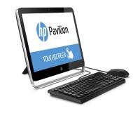 """HP Pavilion 23-p110 2GHz AMD Quad-Core A8-6410 APU with Radeon R5 Graphics (2 GHz, 2 MB cache) 23"""" 1920 x 1080pixels Écran tactile Argent"""