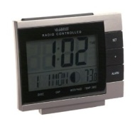 La Crosse Technology WS-8055U Digital Alarm Clock with Moon Phase