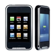 Touch Screen MP4 Touch Screen 4GB 2.8-Inch TFT MP4/MP3 Movie Music Personal Media Player