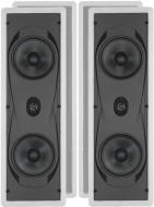 """Yamaha Natural Sound Custom Easy-to-install In-Wall Flush Mount 2-Way 150 watts Speaker (Set of 3) with 1"""" Titanium Dome Swivel Tweeter & Dual 6-1/2"""""""