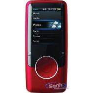 Coby MP707 4 GB Black Flash Portable Media Player