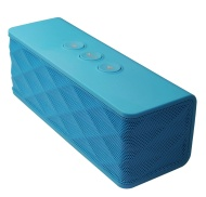 Supersonic SC1365BTBL Wireless Speaker with Built-In Receiver - Blue (Discontinued by Manufacturer)