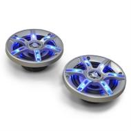 Coppia di altoparlanti auto Auna CS-LED4 500W