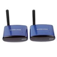 SainSonic SS-630 5.8GHZ AV Wireless Audio Video Transmitter & Receiver 200M, Blue
