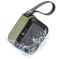 Bluetooth Lautsprecher Wasserdicht Tragbar TaoTronics mini portable Speaker, grün (IPX5, bis zu 15 Stunden Laufzeit, Stereo, Subwoofer)
