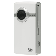 Video Camera, 4GB, 1 Hour, White
