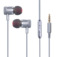 I-kool Headgear Earphones Earbuds Headphones with Mic & volume control for Iphone, Ipad, Ipod, & samsung S3, S4, S5, S6, And all mp3 & mp4 Music playb