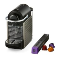 Nespresso by Krups XN300540 Pixie Coffee Machine - Titanium