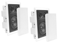 Pyle Home PDIW87 8-Inch Two-Way In-Wall Enclosed Speaker System with Directional Tweeter - sold as a pair