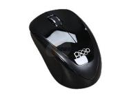 Pixxo MA-9EG5 Black 3 Buttons 1 x Wheel USB 2.4 GHz Wireless Optical 1600 dpi Mouse