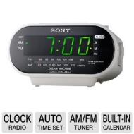 Sony ICF-C318W - Clock radio - white