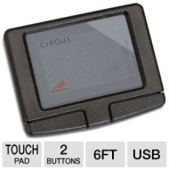 Adesso Easy Cat 2-Button USB Glidepoint Touchpad (Black) GP-160UB