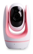 FosBaby by Foscam 720P 1.0MP Baby Video Monitor with Temperature, Sound, Motion Detection and Nursey Rhyme - Pink