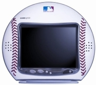 Hannspree's Champions Leather Baseball 10-Inch LCD Television