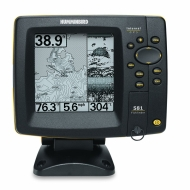 Humminbird 581i 5-Inch Waterproof Marine GPS and Chartplotter with Sounder