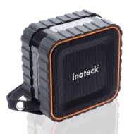 Inateck® BeachStar IPX-5 Waterproof Bluetooth 3.0 HiFi Stereo Bass Speaker with Suction Cup Bluetooth Splash Speaker for Showers, Bathroom, Pool, Boat