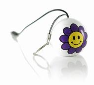 KitSound  Mini Buddy Enceinte compatible avec iPod, iPad 2/3, iPhone 3G/3GS/4/4S/5 et appareils Android  Flower