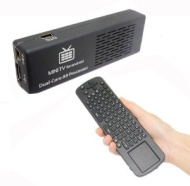 Mini Computer 1080P Andriod 4.1 MK808 Dual Core Rk3066 Cortex-A9 Mini PC WiFi TV Box + 2.4G Measy RC12 Air Fly Mouse