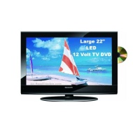 22 inch Skyworth SLC-2219A-3M AC/DC 12 Volt ATSC HDTV LED with DVD Player and Digital ATSC Tuner