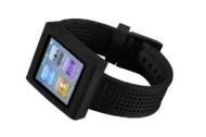 HEX HX1005-BLCK Sport Watch Band for iPod Nano Gen 6 (Black)