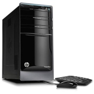 HP Refurbished Black Pavilion P7-1254PC Desktop PC with AMD Quad-Core A6-3620 Processor, 8GB Memory, 1TB Hard Drive and Windows 7 Home Premium (Monito