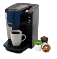 Mr. Coffee BVMC-KG6R-001 Single Serve Coffee Brewer Powered by Keurig Brewing Technology, Red