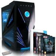 VIBOX Ultra 11W - 3.9GHz AMD Quad Core, Home, Office, Family, Gaming PC, Multimedia, Desktop PC, USB3.0 Computer with 5x Games Bundle, Windows 8.1 and