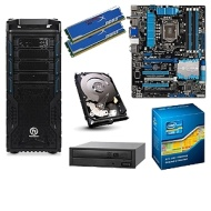 ASUS Ivy Bridge Unlocked Barebones Kit - ASUS P8Z77-V LX Board, Intel Core i7-3770K CPU, Corsair 8GB DDR3 RAM Kit, Seagate 1TB HDD, 24x DVDRW, Thermal