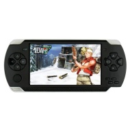 """SUBOR® A1 4.3"""" LCD Handheld Portable Game Player Console MP3 MP4 MP5 Media player PSP Style TF card/TV-Out/Camera (3000 Games Build in)- Black 4GB"""
